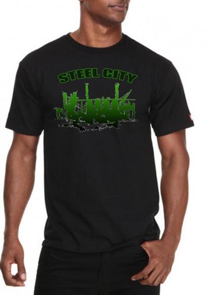 Green Steel City T-Shirt