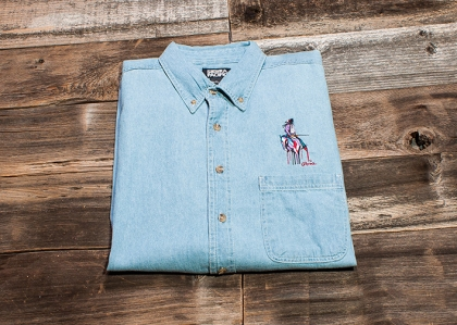 Looking Back Denim Shirt